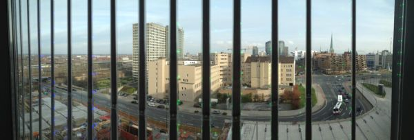 Ausblick aus dem Dortmunder U Veranstaltungsort des Foursquarecamps