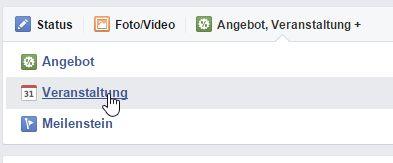 Erfolgreich Facebook Veranstaltungen Erstellen Bewerben