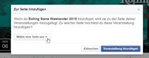 Events zu Facebookseiten hinzufügen - so geht es
