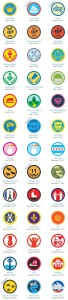 Badgegallerie bei Foursquare