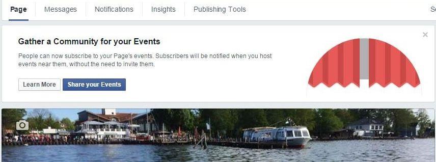 Facebook Veranstaltungen abonnieren